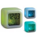Reloj Cubo con 5 funciones y 7 colores de luz PROMOCIONAL
