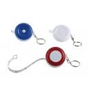 Llavero con flexómetro Dom circular