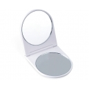 Espejo de bolsillo doble Basic uno con aumento
