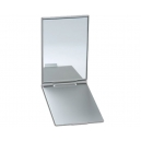 Espejo Luxy rectangular con cubierta de aluminio