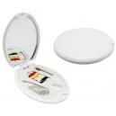 Costurero plástico Oval con espejo y 4 accesorios