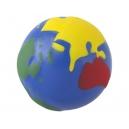 Pelota Anti estrés con temática de globo terráqueo